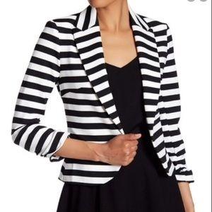 NWOT Amanda + Chelsea Stripped Blazer Size 10